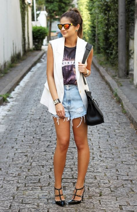 Jeans destroyed: como usar o jeans destruído no look