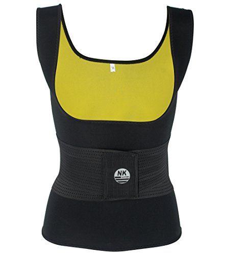 Women Waist Trainer Vest Tank Workout Neoprene Sauna Slim Sweat Belt Body Shaper
