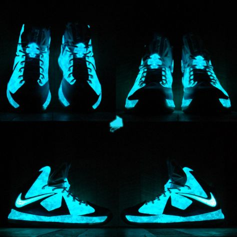 5ec14171d1f Nike LeBron X Chill Blue Camo Custom