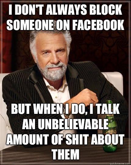 a9bfb9027528d3f5933e636c05ad14dc google search facebook block me on fb meme google search funny memes pinterest,Get Blocked Meme