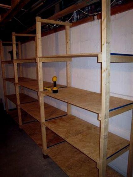 Basement Renovations Tips Basement Storage Shelves Garage