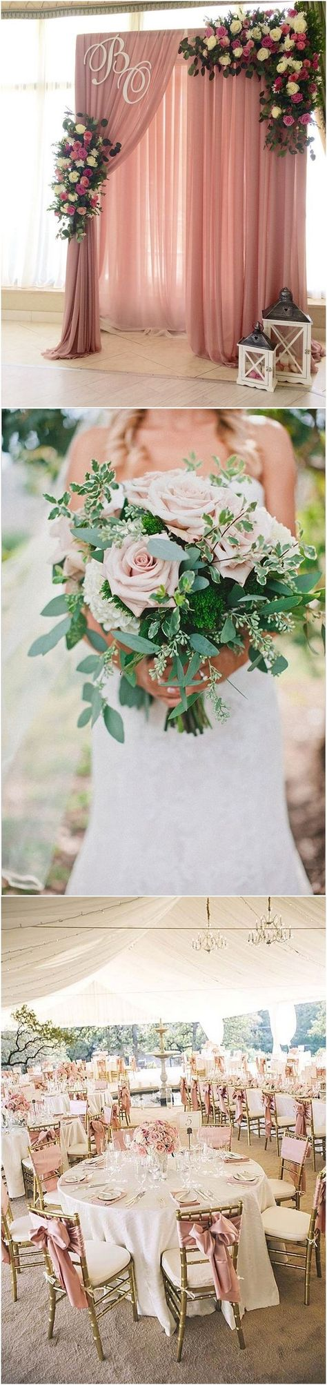 dusty rose wedding color ideas - dusty pink wedding color ideas  #weddings #weddingcolors #wedding #pinkweddings #weddingcolorpalette #himisspuff