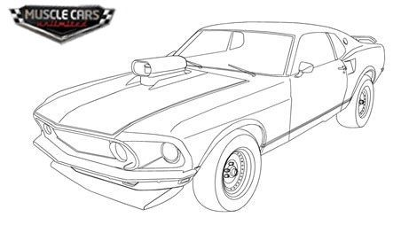 Related Image 1965 Mustang Mustang Drawing Cars Coloring Pages