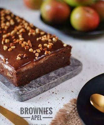 Resep Brownies Apel Resep Hidangan Penutup Kue Lezat