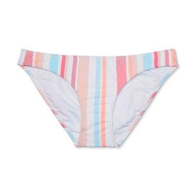 0eea9be1ba216 Women s Hipster Bikini Bottom - Xhilaration Multi Stripe XL ...