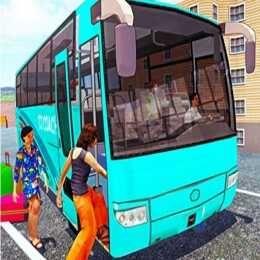 لعبة سائق الحافلات على الطرق الوعرة Off Road Bus Transport Driver Tourist Coach Sim Tourist Sims Games Games