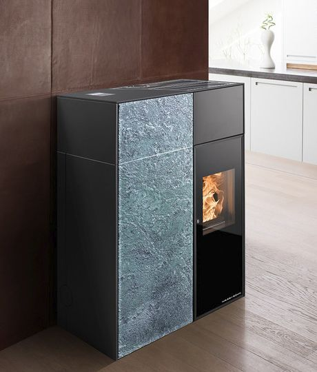Modern Pellet Stoves Catania And Lucca From Haas Sohn Pellet Stove Wood Burning Stove Stove