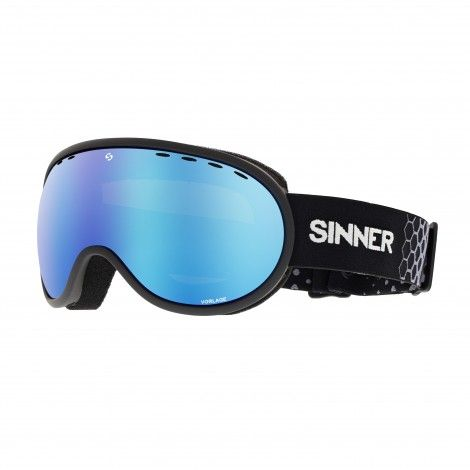 59bfb30488c9 SINNER Vorlage skibril matte black full blue revo | Skiën | Matte ...
