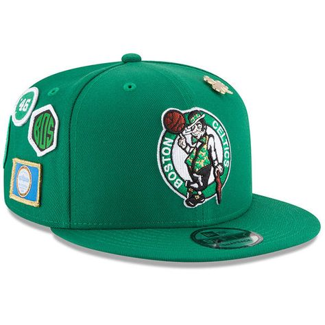 b5c7a0a0032 Youth Boston Celtics New Era Kelly Green 2018 NBA Draft 9FIFTY Adjustable  Hat