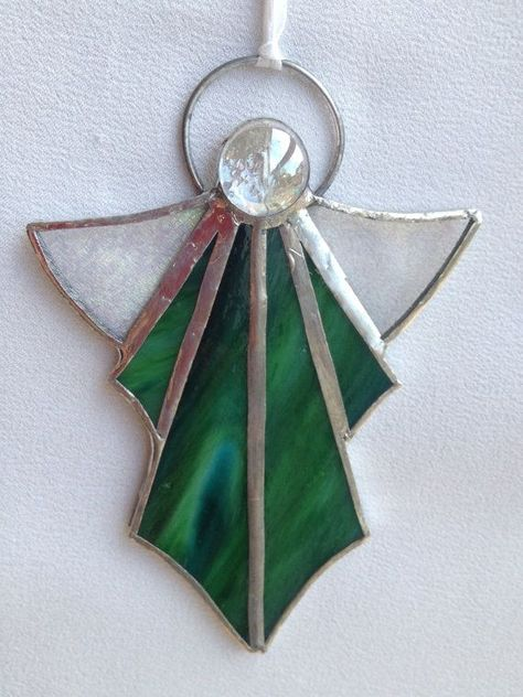 Fused Stained Glass DNA X or Y Matching Ornaments