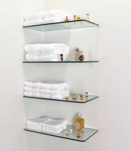 Kitchen Wall Glass Floating Shelves 50 Ideas Kitchen Wall In