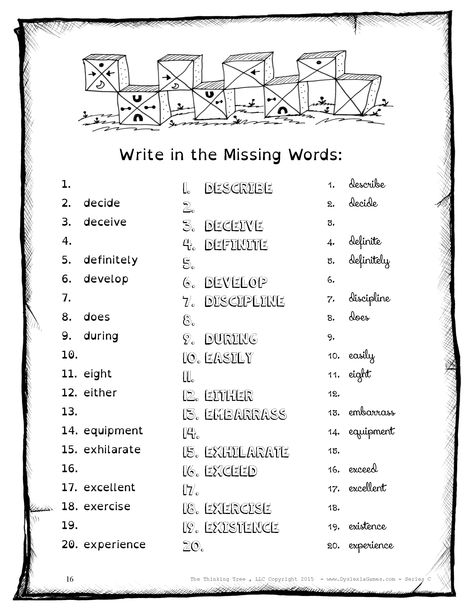 Pin on FREE Dyslexia, ADHD & Autism Worksheets