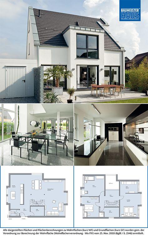 Das Klassik 4000.2 Von KONZEPTHAUS GmbH Hat Eine Wohnfläche Von 175.11m².  Preis Ab: Auf Anfrage. Jetzt Auf Massivhaus.de Ansehen. | Pinterest |  Architecture ...