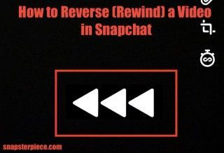 How To Reverse Rewind A Video In Snapchat Like Boomerang For Instagram Reverse Snapchat Video