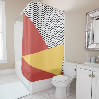 1980s Shower Curtains Society6 With Images Retro Christmas