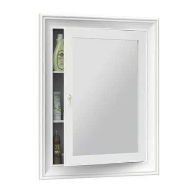 Ronbow William 27 X 34 Surface Mount Medicine Cabinet Surface