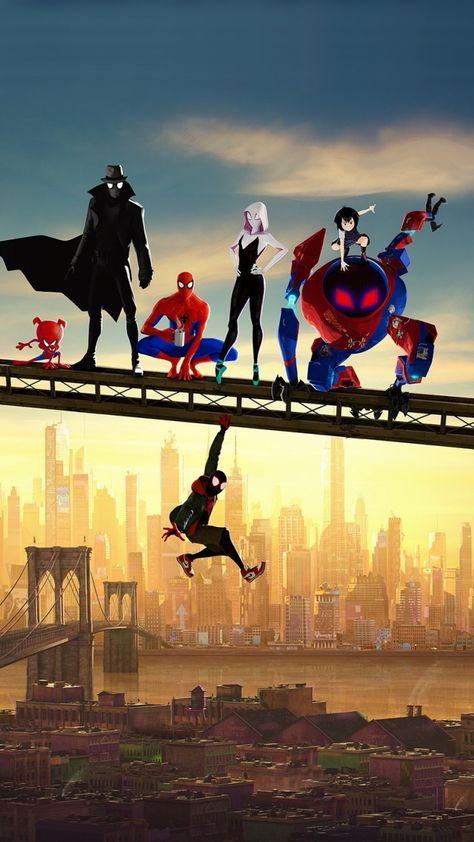 Movie, artwork, Spider-Man: Into the Spider-Verse, fan art, 720x1280 wallpaper