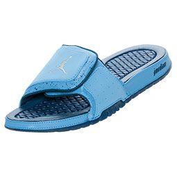 895bf8f62e24d7 ... girl jordan slides Mens Jordan Hydro 2 Slide Sandals FinishLine.com  University Blue .