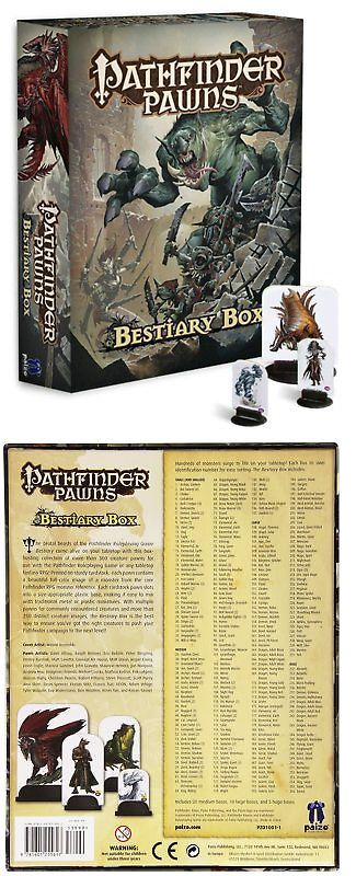 Fantasy 44111: Pathfinder Pawns: Bestiary Box -> BUY IT NOW