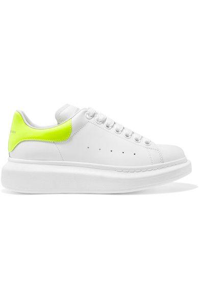 Mcqueen sneakers, Neon yellow shoes