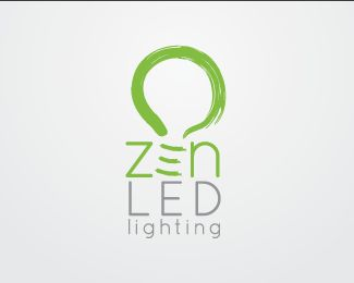 Logo For A Small Time Lighting Company