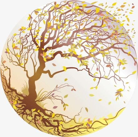 Crystal Ball Four Seasons Tree Autumn Leaves Vector Material Crystal Vector Tree Vector Crystal Ball Png Transparent Clipart Image And Psd File For Free Down Vector City Illustration Vector Illustration Free