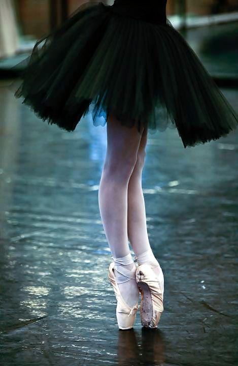 Piernas de bailarina de clásico