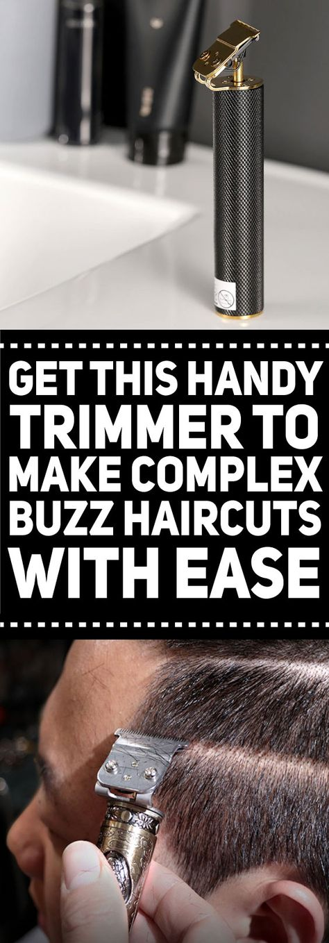 Modernize your hairstyles with this extra precise trimmer to make the complex buzz cuts you ever dreamed of. Surely, your artistic skill as a barber or hairstylist is incomplete without this ornate hair clipper.