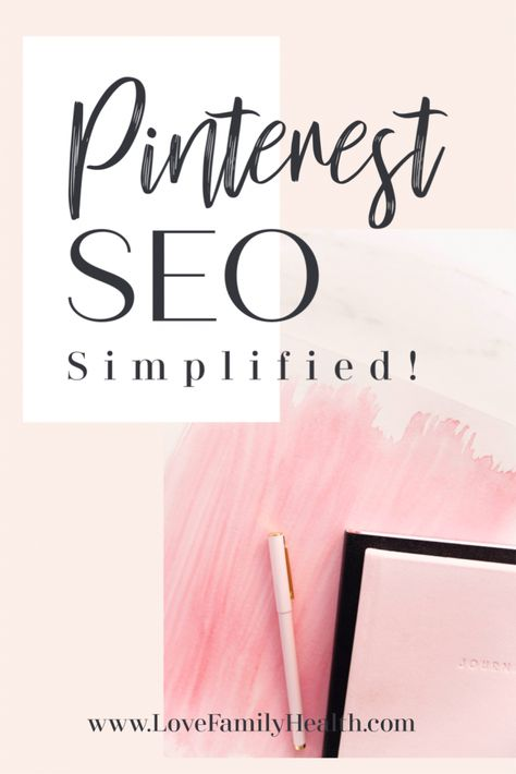 Pinterest SEO made simple!