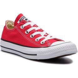Reduzierte Low Sneaker für Damen   Rot