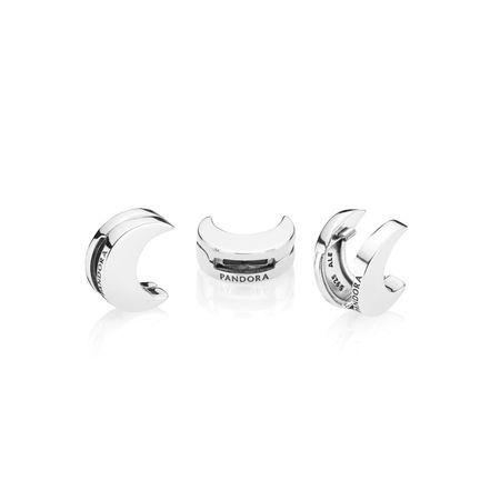 PANDORA REFLEXIONS™ Moon Clip Charm | Essence bracelet, Pandora ...