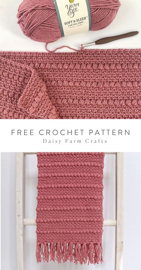 Free pattern crochet boho puff stripes blanket touch of peach baby blankets free crochet patterns Crochet Afghans, Crochet Scarves, Diy Crochet Blankets, Crocheted Scarves Free Patterns, Crochet Blanket Stitches, Simple Crochet Blanket, Free Crochet Blanket Patterns, Crotchet Blanket, Boho Crochet Patterns
