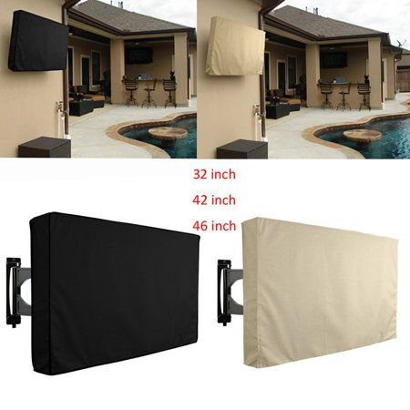 46 Outdoor Tv Cover Waterproof Television Protector For Lcd Led