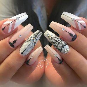 Diamond Nails: 30 Nail Designs with Diamonds