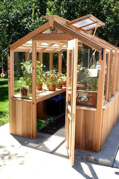 Backyard Wooden Greenhouses And Designs Diy Greenhouse Plans