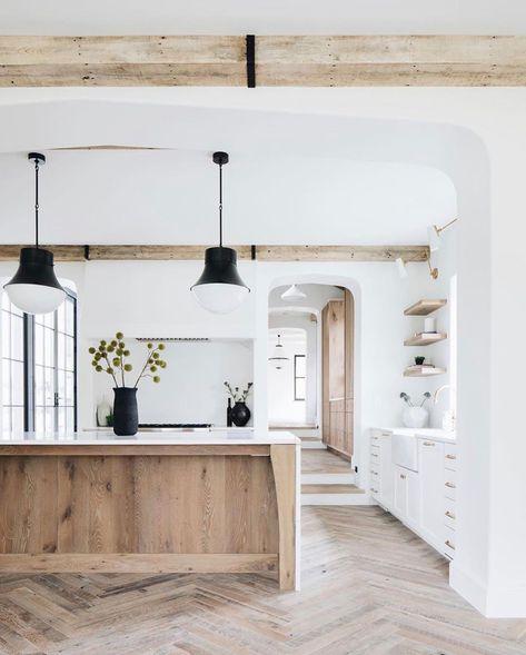 Idee Decoration Interieure Maison Deco Cuisine Ouverte Avec Ilot