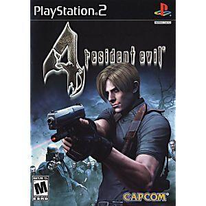 Resident Evil 4 Sony Playstation 2 Game Resident Evil Resident