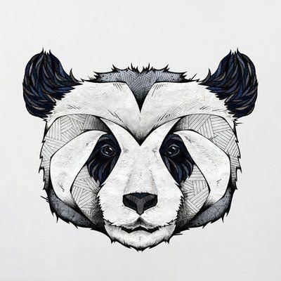 My Wonderful Walls Panda Wall Decal Size: Small