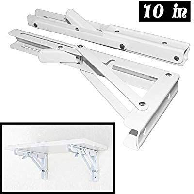 Folding Shelf Brackets Heavy Duty Metal Collapsible Shelf Bracket For Bench Table Shelf Hinge Wall Mo Mit Bildern Wohnmobil Ausbauen Nutzliche Erfindungen Wandhalterung