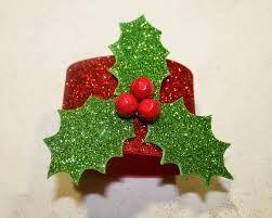 Decoracion de navidad goma eva