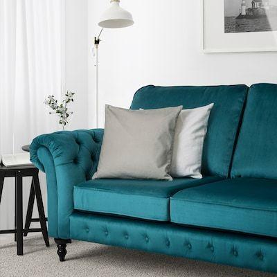 2 Seater Fabric Sofa Ikea Ireland In 2020 Velvet Sofa Living Room Furniture Ikea Sofa
