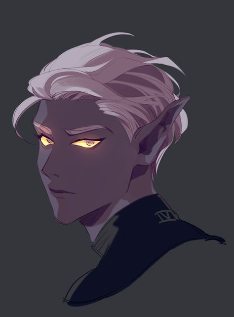 I know he is already a character (Lotor from Voltron with short hair) but it makes me want to write a character with this style Voltron Klance, Form Voltron, Voltron Prince Lotor, Voltron Memes, Fantasy Character Design, Character Inspiration, Character Art, Character Portraits, Dnd Characters
