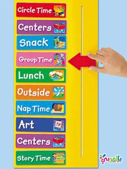 افكار لوحة تعزيز السلوك الايجابي للطلاب لوحات تعزيز سلوك الطالب بالعربي نتعلم Time Art Time Centers Circle Time