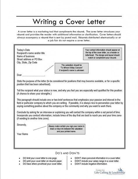 Build a cover letter Reading cover letter samples is a great way to