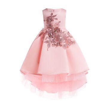 فساتين زفاف للبنات زهرة تنكرية لل 3y 13y In 2021 Princess Dress Kids Girl Princess Dress Girls Dresses