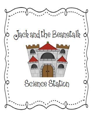 Jack and the Beanstalk, science, centers