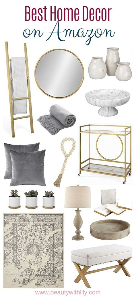 Best Home Decor Items On Amazon - Beauty With Lily