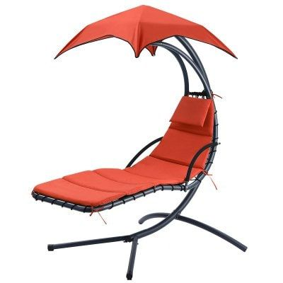 Hanging Chaise Lounge Chair Outdoor Indoor Hammock Chair Swing For Patio Beach Garden Sale Price Reviews Gearbest