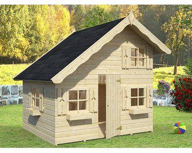 Palmako Spielhaus Tom 220 Cm X 180 Cm Fichte Natur Kaufen Bei Obi Spielhaus Tom Spielhaus Kinderhaus