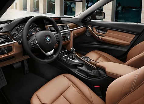 2015 BMW 3 Series Interior